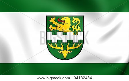 Flag Of The Bergisch Gladbach, Germany.