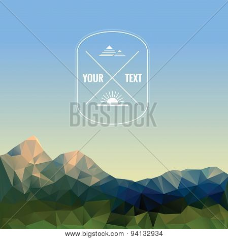 Low Polygonal Mountains