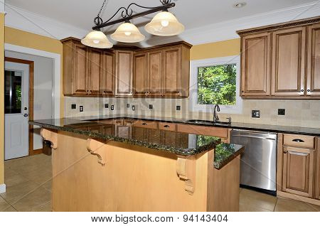 Kitchen Area Of Home