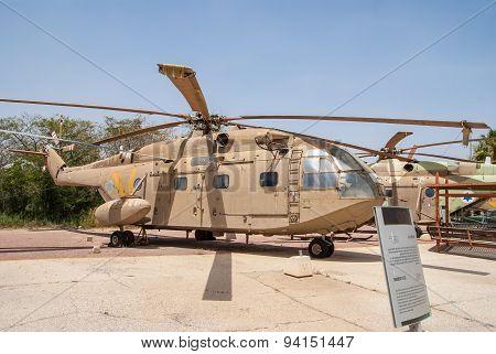 Sikorsky Ch-53 Transport Helicopter