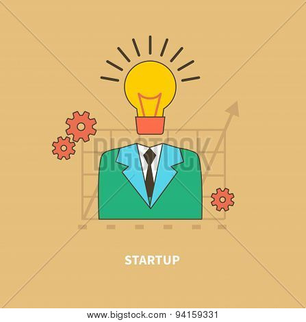 Idea as the Beginning of Startup. Eureka