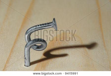 Spiral nail