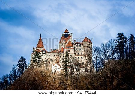 "Bran Castle Transylvania Romania known as ""Dracula's Castle"". poster"