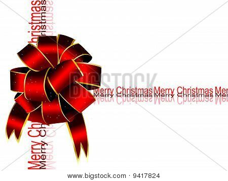 Marry Christmas bow