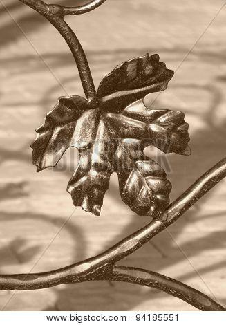 forged leaf