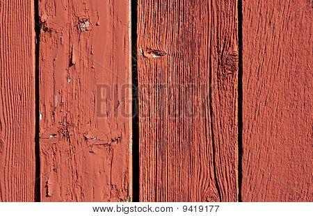 Vintage Red Barn Board Background