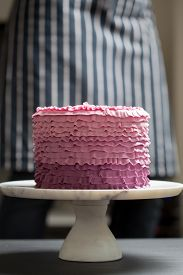 Cake On A Stand
