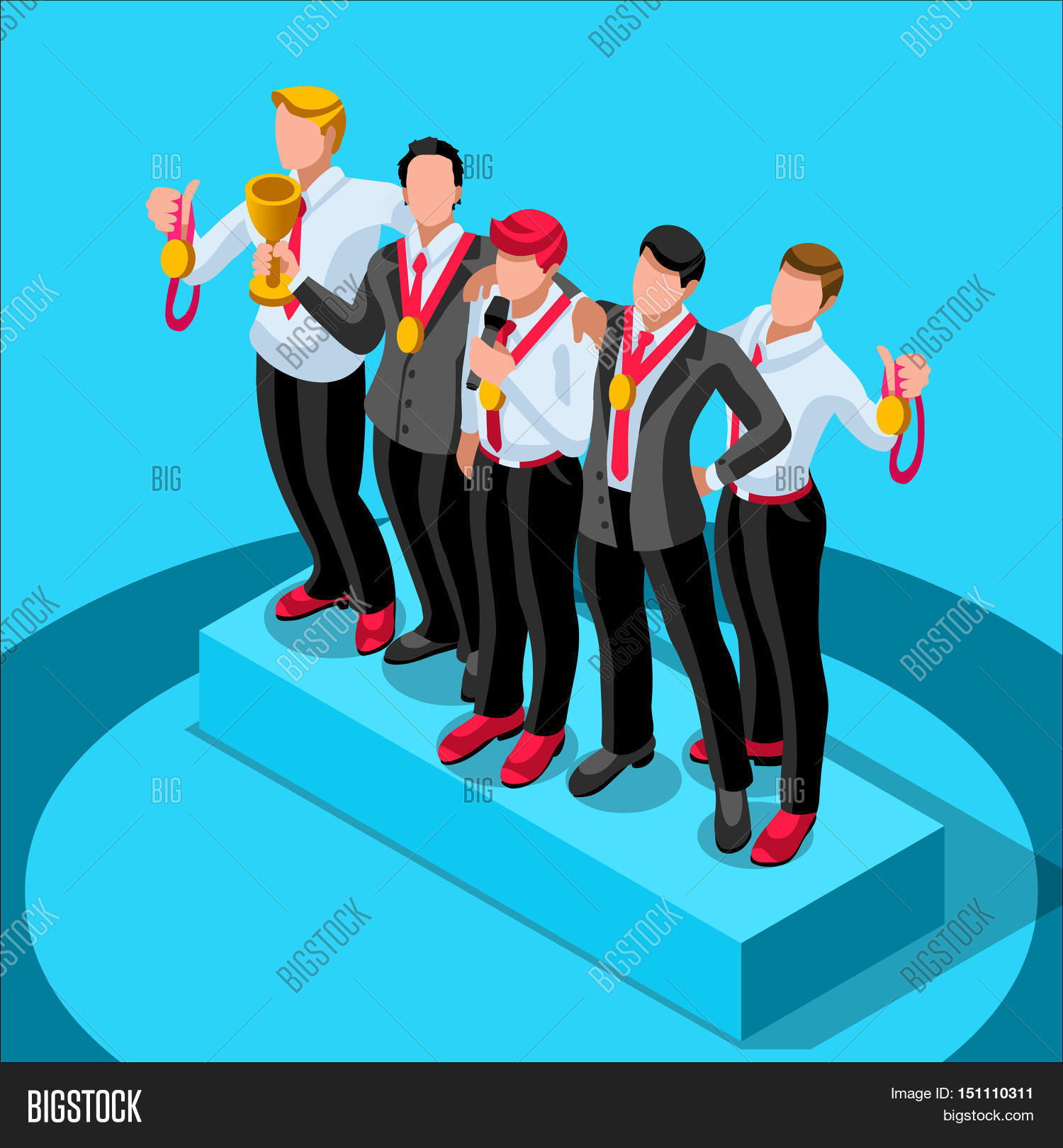 Character Design Career Information : Business concept infographic vector photo bigstock