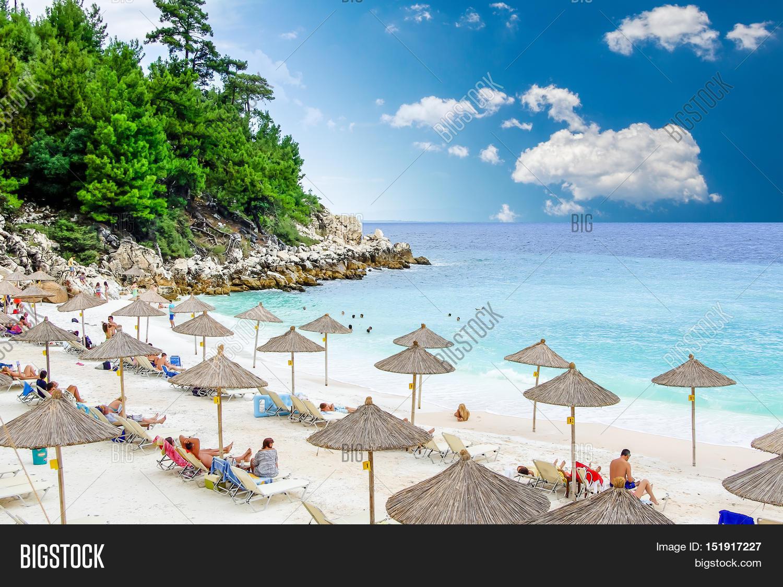 Marble Beach Saliara Image Photo Free Trial Bigstock