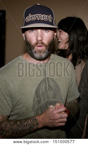 Fred Durst at the Los Angeles premiere of 'The Tripper' held at the Mann's Chinese 6 in Hollywood, USA on October 13, 2006.