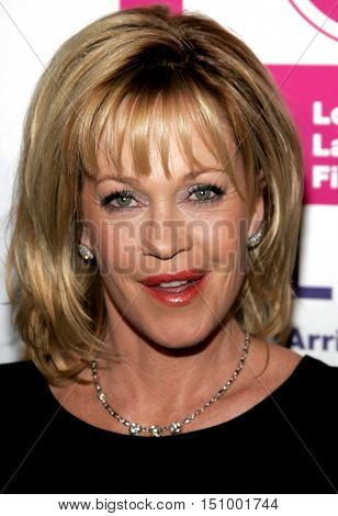 Melanie Griffith at the LALIFF Gabi Award Gala Honoring Antonio Banderas held at the Egyptian Theatre in Hollywood, USA on October 14, 2006.