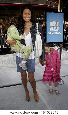 Brooke Burke at the World premiere of 'Ice Age 2: The Meltdown' held at the Grauman's Chinese Theater in Hollywood, USA on March 19, 2006.