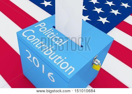 Political Contribution Concept