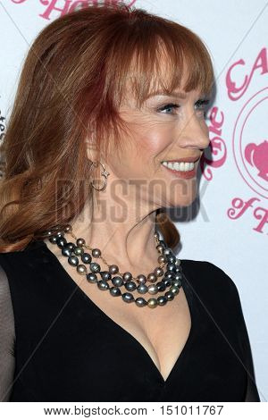 LOS ANGELES - OCT 8:  Kathy Griffin at the 2016 Carousel Of Hope Ball at the Beverly Hilton Hotel on October 8, 2016 in Beverly Hills, CA