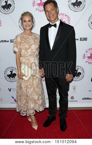 LOS ANGELES - OCT 8:  Maureen McCormick, Michael Cummings at the 2016 Carousel Of Hope Ball at the Beverly Hilton Hotel on October 8, 2016 in Beverly Hills, CA