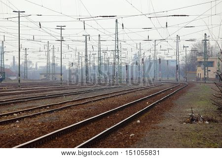 Old railway  complex