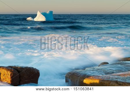 Where Icebergs go to die... Iceberg Alley Newfoundland and Labrador.