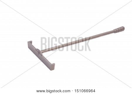 Stock Photo - rake, rateau of roulette isolated