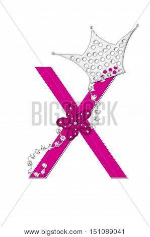 Alphabet Pageant Queen X