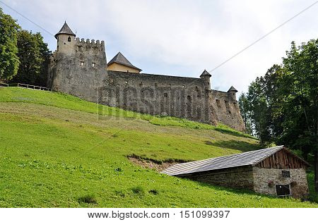 fortress and old castle Stara Lubovna, Slovakia, Europe