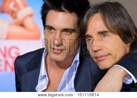 Ethan Browne and Jackson Browne at the Los Angeles premiere of 'Raising Helen' held at the El Capitan Theatre in Hollywood, USA on May 26, 2004.