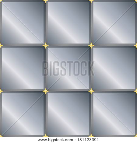 Seamless background with gray squares. vector.