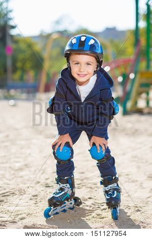 Smiling Skater Boy