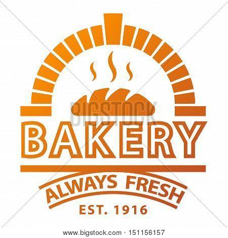 Bakery badgesand logo icon thin modern style vector. Retro bakery label, logo and badge icons. Bakery badge design element isolated on white background