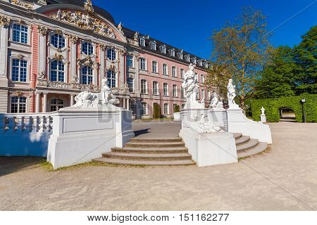 Baroque Kurfurstliches Palace in Trier city Germany