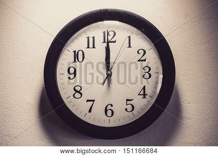 Old Dusty Clock