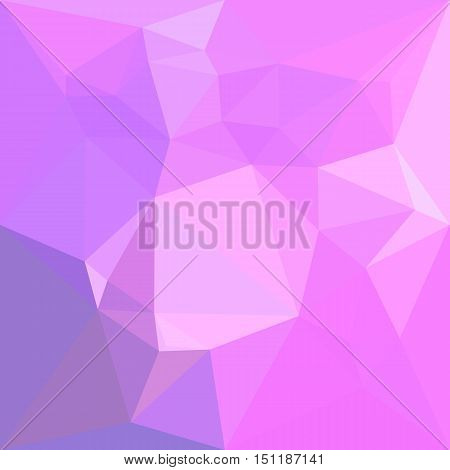 Low polygon style illustration of a medium orchid abstract geometric background.