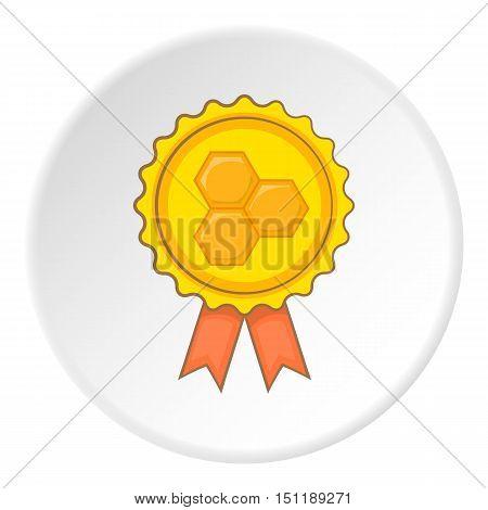 Honey award icon. artoon illustration of honey award vector icon for web
