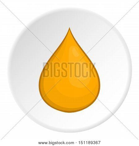 Honey drop icon. artoon illustration of vector icon for web
