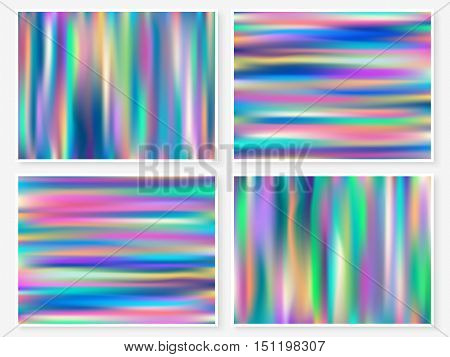 Holographic Background Multicolor Texture Bright