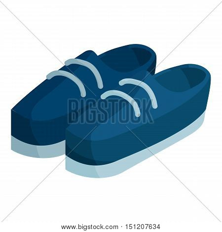 Boots icon. Isometric illustration of boots vector icon for web