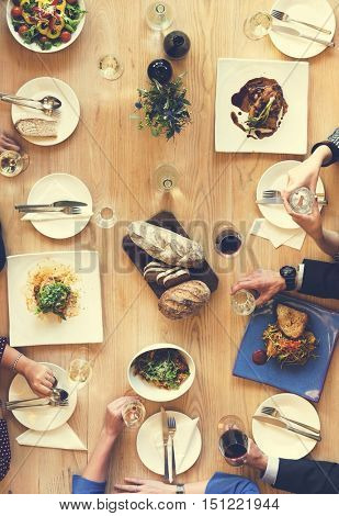 Food Catering Cuisine Culinary Gourmet Party Concept