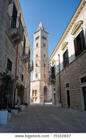 Belltower Cathedral. Trani. Apulia.