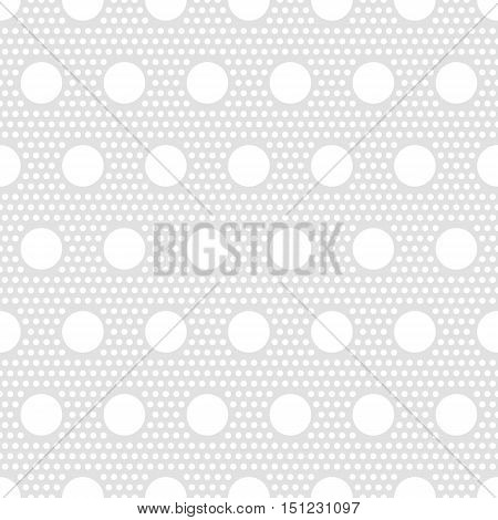 Polka dots seamless pattern for print. Print for dress, package, carpet. Vintage pattern, retro background