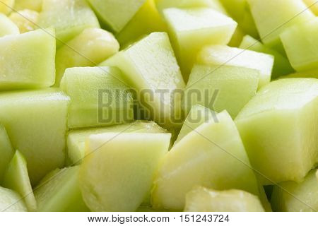 Fresh melon sliced background. Melon sliced. Sweet Melon. Melon fruit.