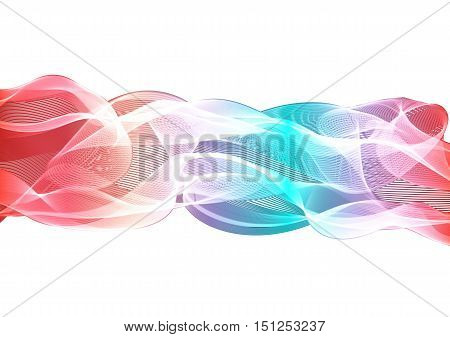 Abstract Color Waves