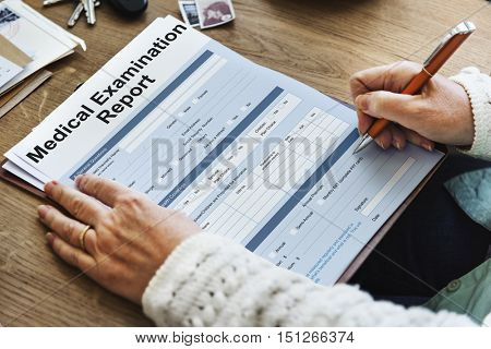 MEdical Examination Report Patient Record Concept