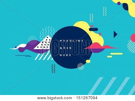 Vector of modern abstract background