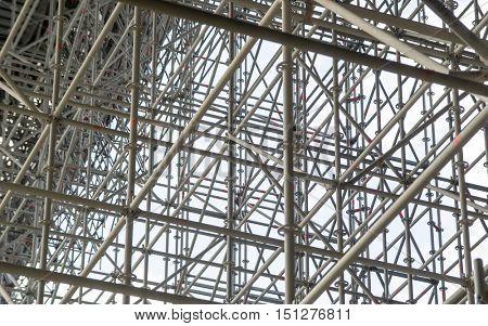 huge scaffolding