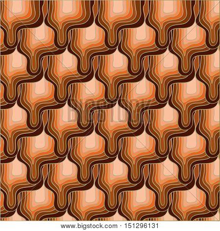 Orange - brown abstract background. Illustration 10 version