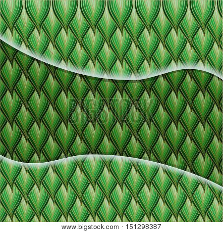 Floral abstract background with leafs. Illustration 10 version