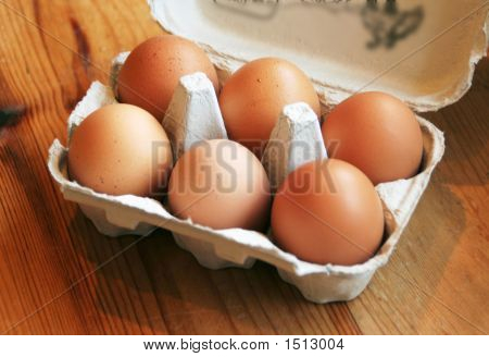Box Of 6 Eggs 2