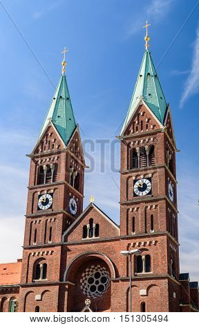 Franciscan church, tourist and cultural attraction in Slovenia, Maribor.