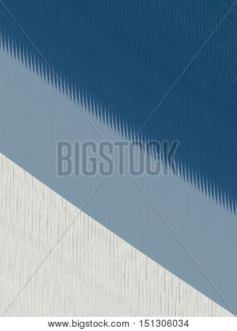Abstract of blue and white with irregular lines and spikes for texture. Can be oriented in any direction.