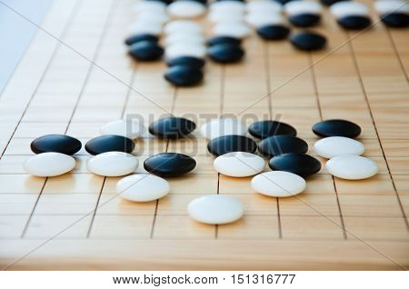 Desk For Board Game Go
