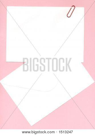 Notepaper And Envelope